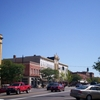 Downtown Ravenna Along Main Street