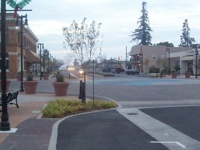 Downtown Riverbank Third Street