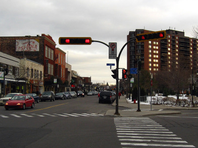 Downtown Saint Lambert