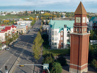 Downtown Clocktower St. Albert