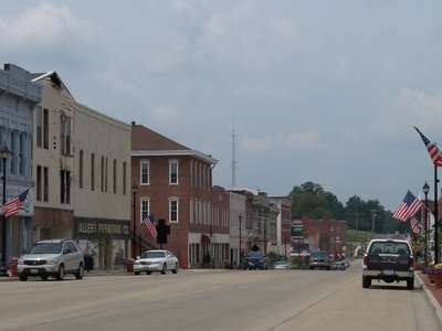 Downtown  Vandalia  I L  1