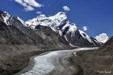 Drang Drung Glacier - Zanskar Landscape - Ladakh J&K