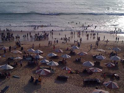 View Of Dreamland Beach