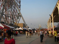 Amusement Park On The Roof Of Dream Mall