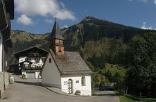 Dreifaltigkeitskapelle, Rauth, Nesselwängle, Austria
