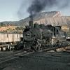 DRGW Steam Locomotive On The Durango Turntable