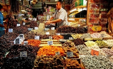 Dried Fruits In The Spice Bazaar