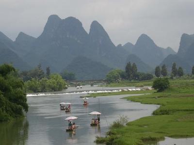 Drifting Yulong River