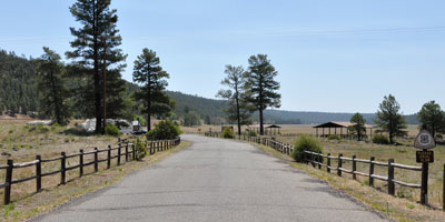 Driveway Into The Picnic Area