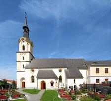 Dörnbach Pilgrimage Church-Wilhering, Austria