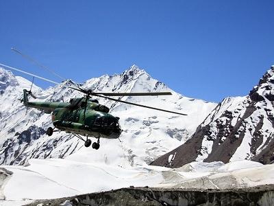 Drop At Khan Tengri Base Camp - Kyrgyzstan