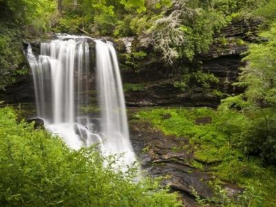 Dry Falls - Highlands - Nantahala NC