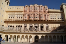 Hawa Mahal Central Courtyard
