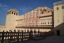 Hawa Mahal - Views Of Inner Courtyard