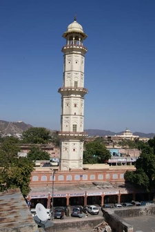 Minaret At Tripolia Bazar