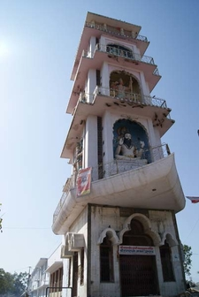 A Temple Tower In Pushkar