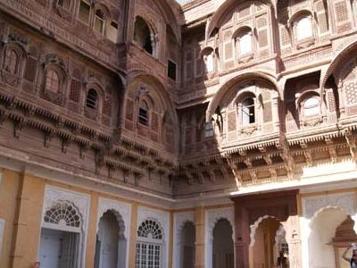 Palatial Courtyard
