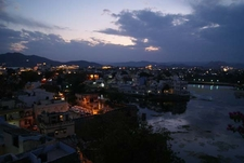 Udaipur City Nightview