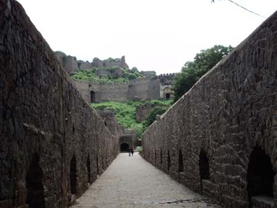 Golconda Fort Inner Alleyways