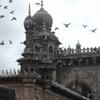 Mecca Masjid Birds Near Charminar