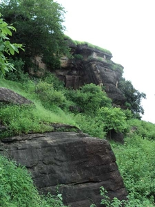 Caves Along Hilly Tracts
