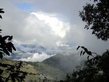 Plenty Of Mountain Views With Clouds
