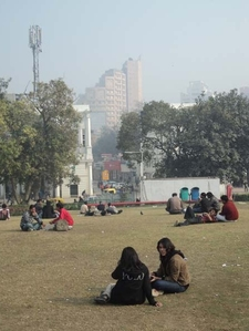 Friends At Central Park - Connaught Place