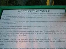 Landour Info Plaque