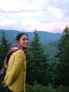 Ann Urmann On Landour Trail