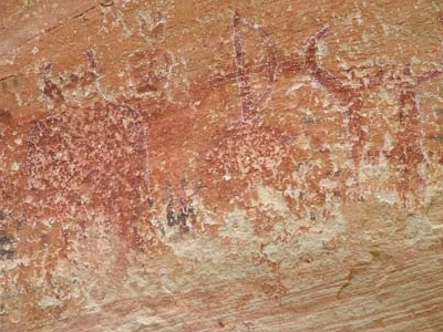 Medicine Lodge Damage Rock Art