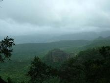Satpura Range View From Site