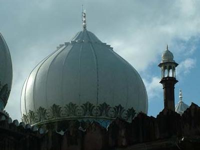 Taj-ul-Masajid Domes & Minaret