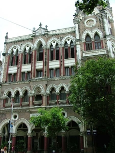 Heritage Building At Flora Fountain