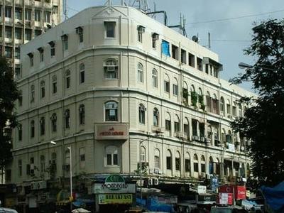 Cafe Mondegar From Across The Street- Colaba - Mumbai