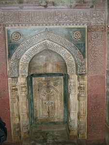 Excellent Detailed Works At The Doorway