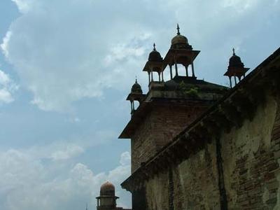 Jehangir Mahal Side Wall
