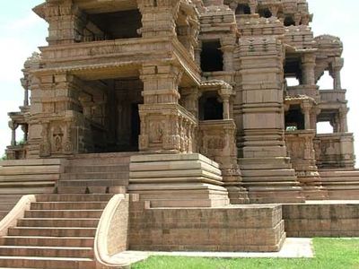Temple Stair-Way Entrance