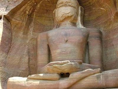 Mahavira - Jain Monolith In Gwalior