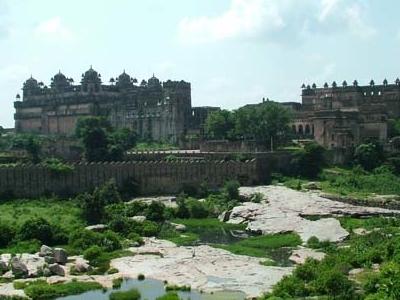 Jahangir Mahal At A Distance
