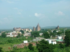 Orchha Town View