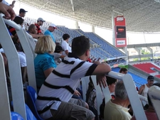 Engrossed Spectators