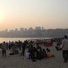 Chowpaty Beach Sunset View