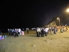 Juhu Beach - Lit After Dark