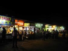 Juhu Beach - Food & Juice Stalls