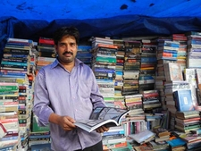 Fort Booksellers - A Stall Vendor