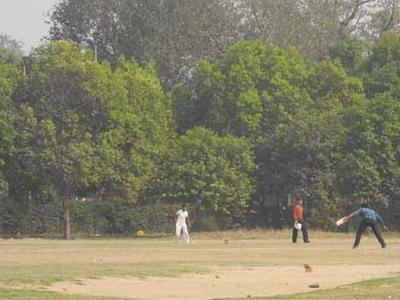 Cricket On The Side - India Gate Lawns