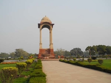 Pathway To India Gate Canopy
