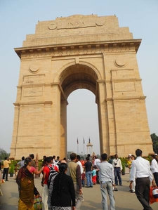 India Gate - Straight View