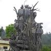 Another Sculpture At A Kaliurang Square