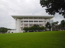 Sprawling Lawns At Parliament House